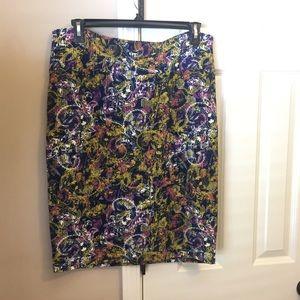 LuLaRoe Pencil Skirt - 2XL